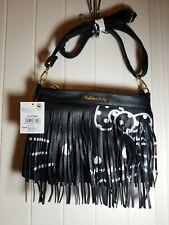 NWT Sanrio Original Hello Kitty black purse handbag with fringe