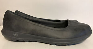 Skechers Goga Max Charcoal Gray Ballet Flats Everyday Casual Comfort Misses 11