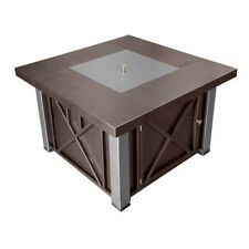 Az Patio Decorative Bronze and Stainless Steel Firepit - Gsf-Dghss New