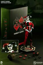 """SIDESHOW EXCLUSIVE HARLEY QUINN DC Comics 1/6th Scale Action Figure 12"""""""