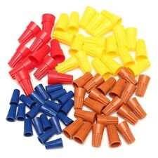 70Pcs Electrical Wire Twist Connector Nut Terminals Cap Spring Insert Assortment