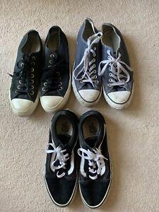 Men's Bundle Size 9 Converse And vans