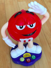 M&M's Character Chocolate Candy Dispenser Red