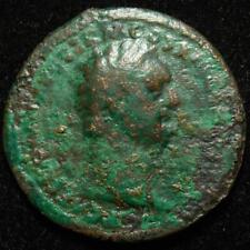 Domitian AE as, rev. Virtus, Rome mint 90-91AD - RIC 397