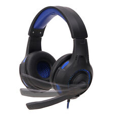 Stereo Gaming Headset Headband Headphone USB 3.5mm Mic LED For PC PS4 Surround