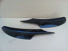 BMW E90 E91 M-SPORT FRONT BUMPER CORNER LIP SPOILER SPLITTER 09 TO 11 MODELS UK