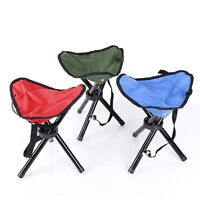 HOT Outdoor Travel Chair Slacker Folding Tripod Camp Stool Folding Fishing Chair