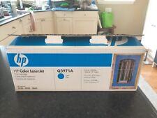 Q3971A 123A Genuine HP Cyan Toner 2500L 2550LN 2550 2800 2820 Free Shipping