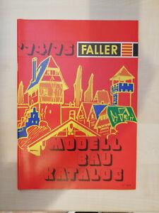 Faller Gesamt-Katalog 1974/75 - sehr guter Zustand (1416)