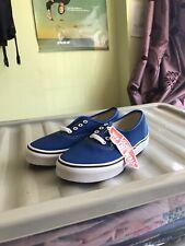 Boys, Vans Authentics Royal Blue Sneakers Trainers. Size 2
