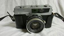 VINTAGE1960s PETRI 7S CIRCLE EYE-SYSTEM COLOR CORRECTED SUPER 35mm CAMERA