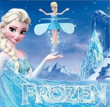 Frozen Princess Elsa Flying Fairy Magic Infrared Induction Control Figures Toy