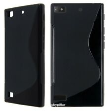 """5 """" DISPLAY Blackberry Leap TPU S slicone rubber Soft Back Case Cover"""