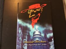 Oliver Musical London Programme Brochure Large
