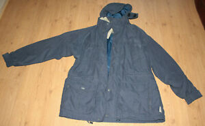 Mens Tog 24 Trekking Performance Clothing Systems Grey Coat, Size L Large
