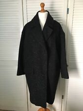 Label Lab Womens Wool Coat Black Size UK 14 New Without Tags