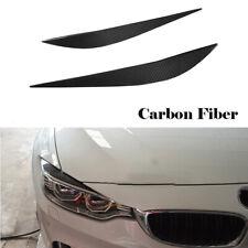 Fit For BMW 420i 428i 430i 435i 440i M4 M3 Carbon Headlight Eyebrow Eyelid Cover