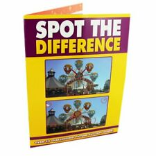 Spot The Difference Puzzle Book Book The Cheap Fast Free Post