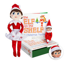 The Elf on the Shelf Elf on The Shelf Bundle Christmas Tradition Book with Light
