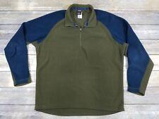 Patagonia Capilene Men's Pull Over 1/4 Zip Fleece Sweatshirt Jacket size Large