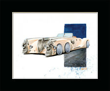 LEAGUE OF EXTRAORDINARY GENTLEMEN NAUTILUS CAR Fine Art Print By Billy Tackett