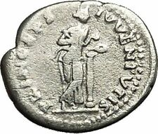 DOMITIAN son of Vespasian Silver Ancient Roman Coin Salus Health  Cult  i39695