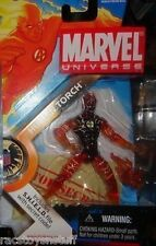 HUMAN TORCH CHASE VARIANT MARVEL UNIVERSE SERIES FIGURE MOC  FREE U.S. SHIP