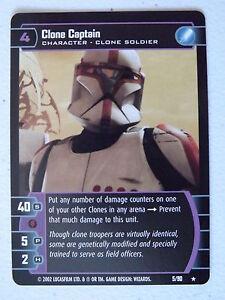 Star Wars TCG -  SR - Sith Rising - Clone Captain 5/90 NM/Mint