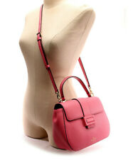 NEW Kate Spade $358 Carlyle Street Justina Convertible Handbag Purse Pink Leathe