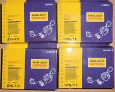 8 Cartucce d'Inchiostro per stampante Epson Stylus D78 DX5000 DX9400 SX100 SX215 SX400