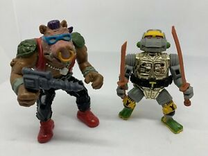 Bebop & Metal Head Turtles Tmnt Vintage Playmates Actionfiguren