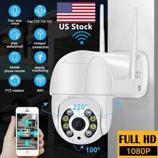 ICSEE 1080P PTZ Security WIFI Camera Waterproof Outdoor Wireless IP CCTV IR Cam