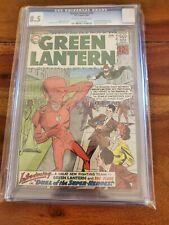 Green Lantern #13 1962 CGC 8.5 1st Silver Age Flash crossover