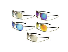 Men's 100% UVA UVB Mirrored Metal & Plastic Sunglasses