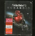 TOKIO HOTEL HUMANOID Super Deluxe Edition CD & DVD + Flag SEE CONDITION