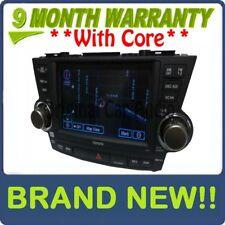 NEW TOYOTA Highlander OEM JBL Navigation Satellite MP3 Radio Cd Player E7014
