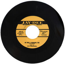 "OTIS BLACKWELL  ""OH! WHAT A WONDERFUL TIME""   KILLER 50's R&B MOVER"
