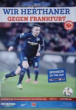 Stadionmagazin 2015/16 Hertha BSC Berlin - Eintracht Frankfurt