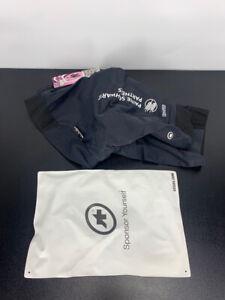 New! Assos Women's H.Laalalai Padded Cycling Shorts Size SMALL (Black w logos)