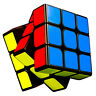 Moyu 3x3x3 Speed Cube Mofangjiaoshi Puzzle Magic Cube Toys with Sticker for Kids