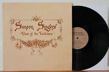 SIMEON SINGERS Voice Of The Turtledove LP RARE Xian Folk Rock
