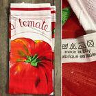 Vintage Tomato 'La Tomate' Pure Cotton Tea Towel Made in Italy ELI