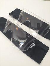 Set of 2 - Unissued Avon Clear Outsert Assembly M50 C50 FM50 FM53 Gas Mask Lens