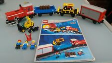 Lego Eisenbahn 9V Güterzug 4563 OBA Originalbauanleitung vollständig
