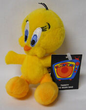 "1999 Warner Bros Studio Store Tweety 6"" Mini Bean Bag-Beanie"