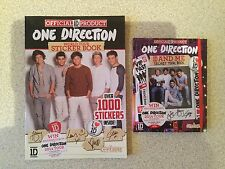 2 x One Direction Books NEW - Sticker book & Secret Tour Book