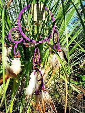 Attrape Rêve violet capteur de Rêves Dreamcatcher Dream Catcher Attrapeur piège