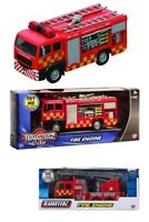 FIRE ENGINE TEAMSTERZ DIE CAST EMERGENCY TOY KIDS TRUCK VEICHLE LIGHTS SOUNDS 16