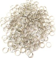 300PCS Antique Silver Split ring 6mm - Jewelry Supplies