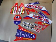 TEAM LUCAS OIL graphics Honda CRF250R 2004 2005 2006 2007 2008 2009  PTS CRF250X